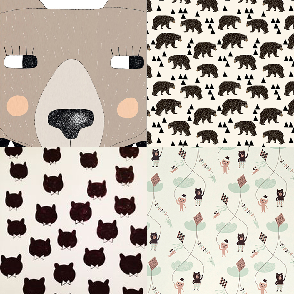Ferm_living_bear_wallpaper_paddington